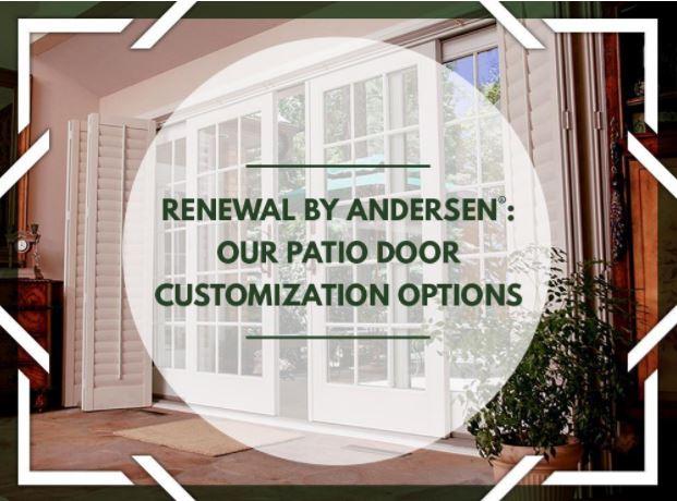 Patio Door Customization Options
