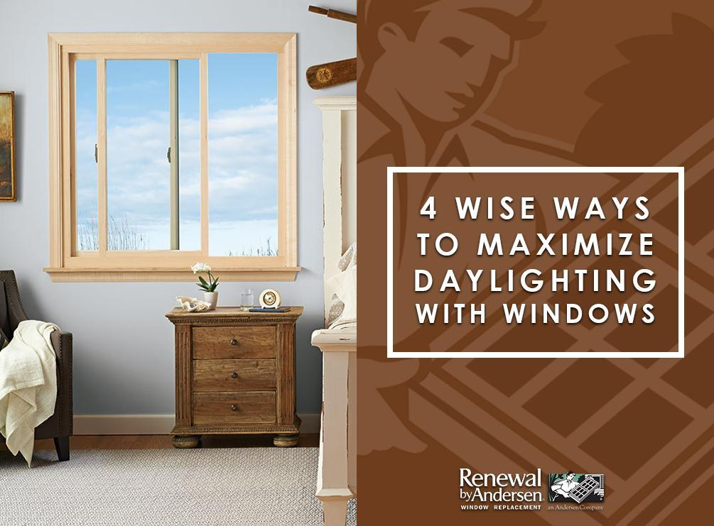 Maximize Daylighting With Windows