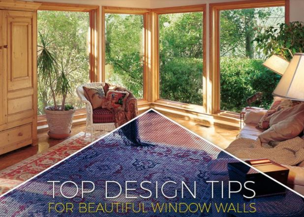 Top Design Tips for Beautiful Window Walls
