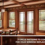 7 Grille Patterns to Consider for Your Window Replacement